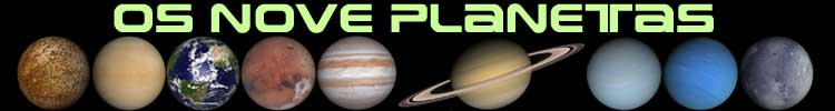 Clique nos planetas para ir direto para eles